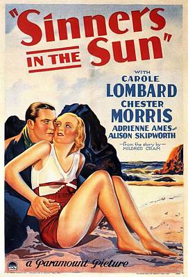 Royalty-Free and Rights-Managed Images - Sinners in the Sun, 1932 by Stars on Art
