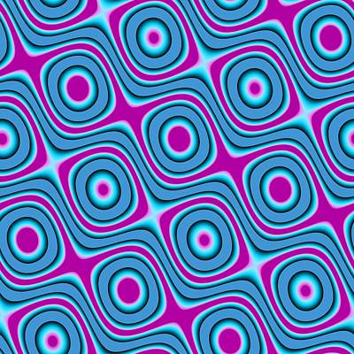 Digital Art - Sinusoidal Art Pattern 4 by Wilma Barnwell