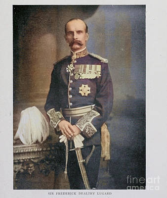 Drawings Royalty Free Images - Sir FREDERICK DEALTRY LUGARD i1 Royalty-Free Image by Historic illustrations