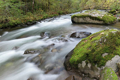 Royalty-Free and Rights-Managed Images - Skate creek running through the stones by Jeff Swan