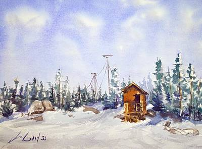 Olympic Sports - Ski Hut by Max Good