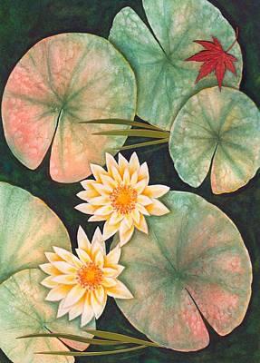 Painting - Skipping Pond by Koka Filipovic