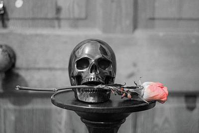 Keith Richards - Skull and Rose by Watto Photos