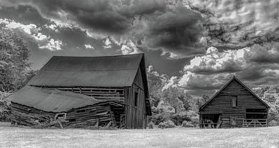 Photograph - Sky Drama in Rural Georgia  by Marcy Wielfaert