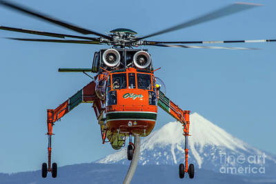 Spot Of Tea Royalty Free Images - Skycrane S-64 Royalty-Free Image by Rick Mann