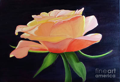 Painting - Smelling The Roses by Julieanne Case