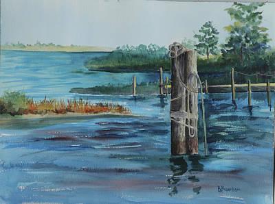 Painting - Smith Point by Barbara Busenbark