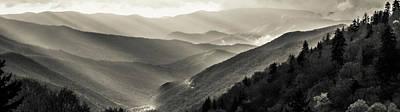 Western Art - Smoky Mountain Panorama 027 by James Richardson