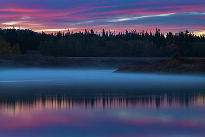 Royalty-Free and Rights-Managed Images - Snake River Dawn by Joseph Rossbach