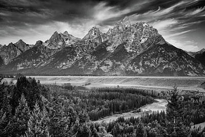 Whimsically Poetic Photographs Rights Managed Images - Snake River Overlook - Grand Teton National Park Royalty-Free Image by Stephen Stookey