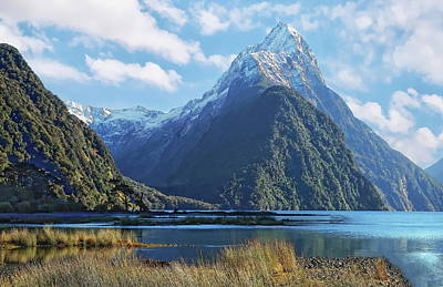 All You Need Is Love - Snow-Covered Mitre Peak by Anthony Dezenzio