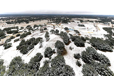 Photograph - Snow Day at Siboney Jan 2021 - Plate 2 by Miguel Lecuona