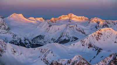 Photograph - Snowmass Peak by Tamara Susa