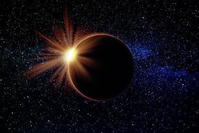 Miles Davis - Solar Eclipse Milky Way by Pelo Blanco Photo