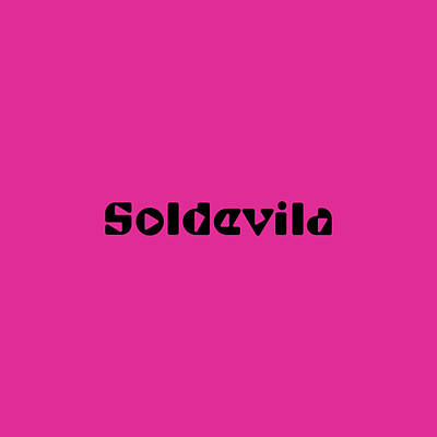Royalty-Free and Rights-Managed Images - Soldevila by TintoDesigns