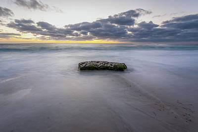 Photograph - Solitude Rock by Peter Tellone
