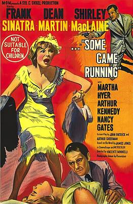 Royalty-Free and Rights-Managed Images - Some Came Running, with Frank Sinatra and Shirley MacLaine, 1958 by Stars on Art