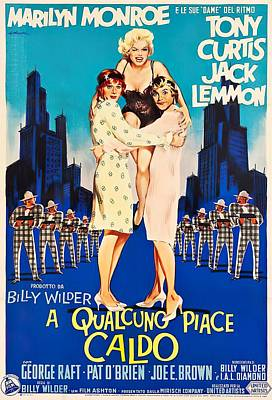 Royalty-Free and Rights-Managed Images - Some Like It Hot, 1959 -c by Stars on Art