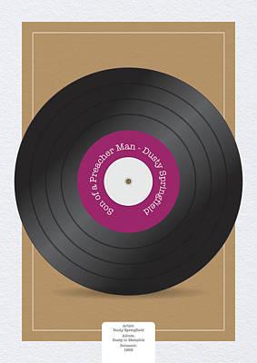 Digital Art - Son of a Preacher ManVinyl Record by Samuel Whitton