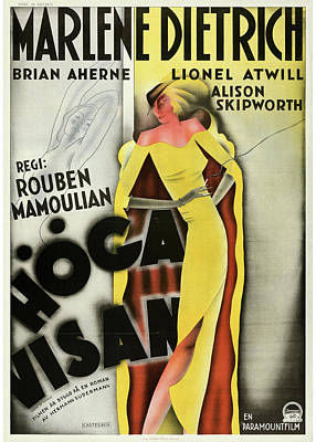 Royalty-Free and Rights-Managed Images - Song of Songs poster 1933 by Stars on Art