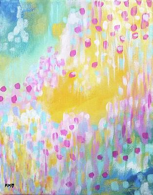 Painting - Song of Wildflowers by Marieke Mertz
