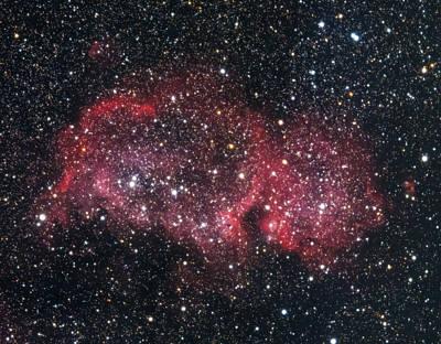 Photograph - Soul Nebula by Willard Sharp