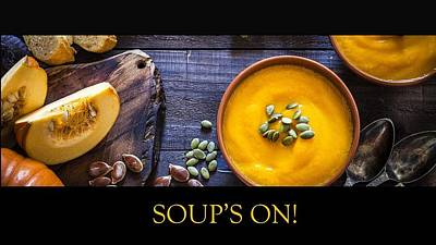Photograph - Soup's On - Squash by Nancy Ayanna Wyatt and more