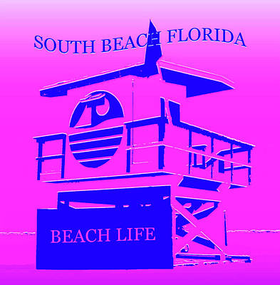 Royalty-Free and Rights-Managed Images - South Beach Florida by David Lee Thompson