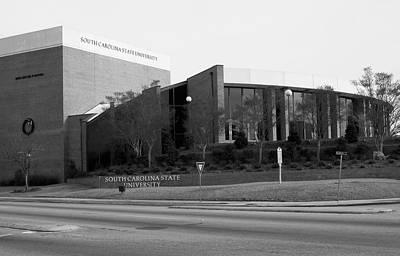 Catch Of The Day - South Carolina State University Orangeburg 2 bw by Bob Pardue