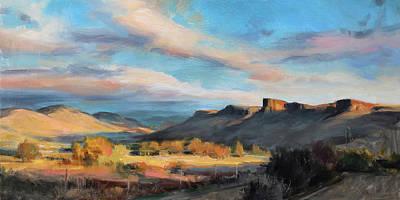 Painting - South Table Sunrise by Anna Bain