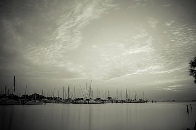 Space Photographs Of The Universe - South Yacht Basin Sunrise by Joe Leone