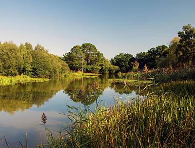 Photograph - Southampton Ornamental Pond by Lenny Carter