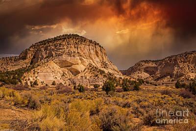 Latidude Image - Southern Utah Storm by Mitch Shindelbower