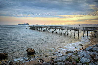 Photograph - Southport Pier by Don Margulis