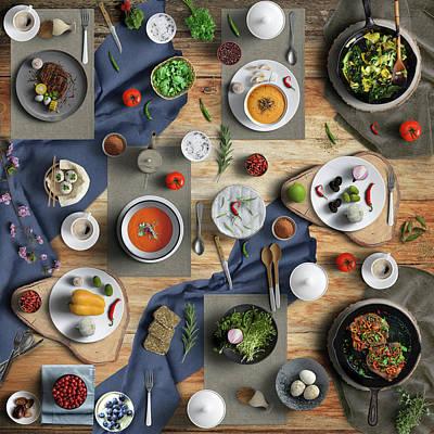 Old Masters - Spicy Tasty Dinner by Johanna Hurmerinta