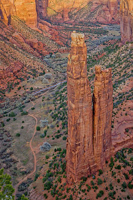 Design Turnpike Books - Spider Rock Canyon De Chelly by Jerry Fornarotto