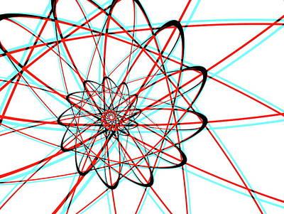 Digital Art - Spiral Lines by Mediamerge - Dan Roitner