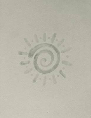 Hood Ornaments And Emblems - Spiral Sun by Sarah Fox Wangler