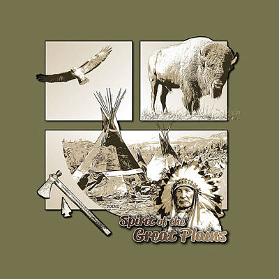 Royalty-Free and Rights-Managed Images - Spirit of the Great Plains by Greg Joens
