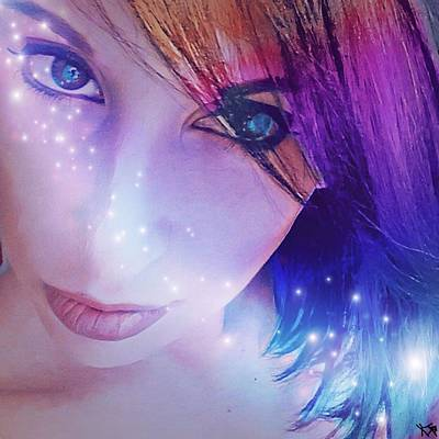 Digital Art - Spiritual Self Portrait  by Kate Hart Nardone