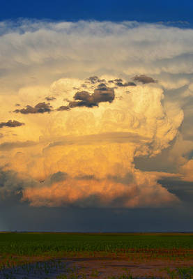 State Love Nancy Ingersoll Rights Managed Images - Splendid Sunset Storm South of Broken Bow, Nebraska  Royalty-Free Image by Ally White
