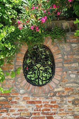 Abstract Works - Splendid Venetian - Ubercharming Garden Window with Plants by Georgia Mizuleva
