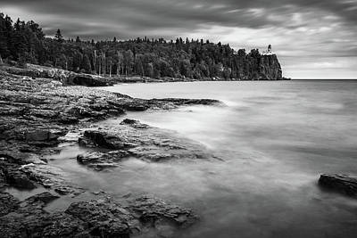 Photograph - Split Rock Lighthouse Morning Dream by Sebastian Musial