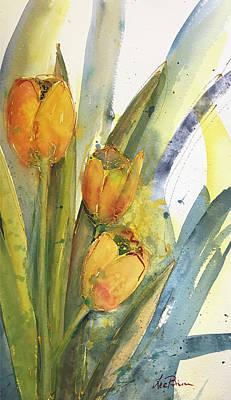Painting - Spring Blooms Again by Lee Bauman