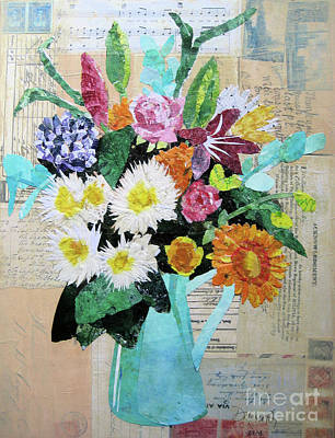 Painting - Spring Bouquet by Diane Marcotte