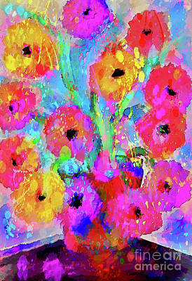 Ethereal - Spring Flower Bouquet by Laurie