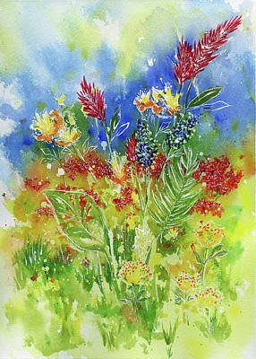 Painting - Spring Flowers 3 by Beth Taylor