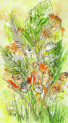 Painting - Spring Flowers by Beth Taylor