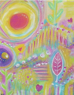 Painting - Spring growth by Marieke Mertz