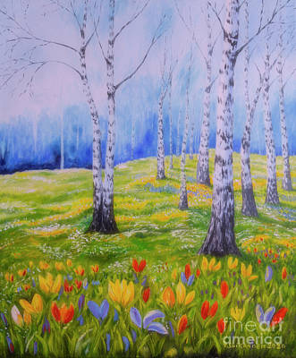 Aromatherapy Oils - Spring in birch by Veikko Suikkanen